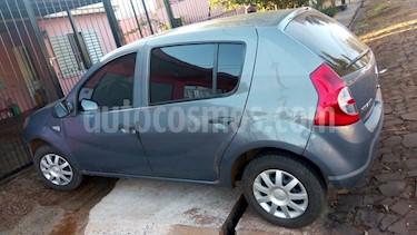 Foto venta Auto Usado Renault Sandero 1.6 Pack (2010) color Gris Eclipse precio $144.000