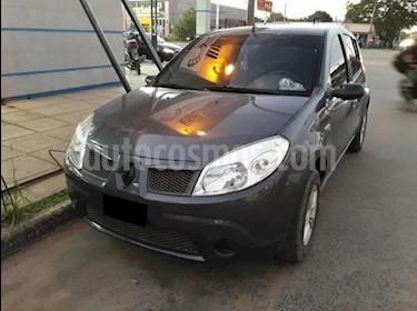 Foto venta Auto usado Renault Sandero 1.6L Confort (2009) color Gris Oscuro precio $200.000