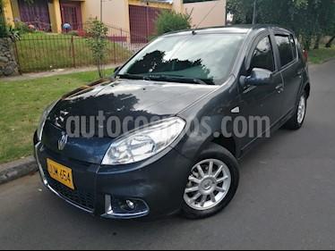 Foto venta Carro usado Renault Sandero 1.6L Dynamique (2016) color Negro precio $28.500.000