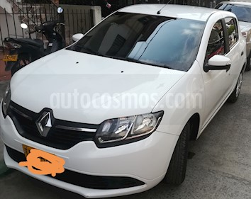 Renault Sandero 1.6L Expression usado (2016) color Blanco precio $29.000.000