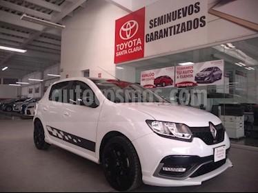 Renault Sandero 5p R.S. L4/2.0 Man usado (2017) color Blanco precio $180,000