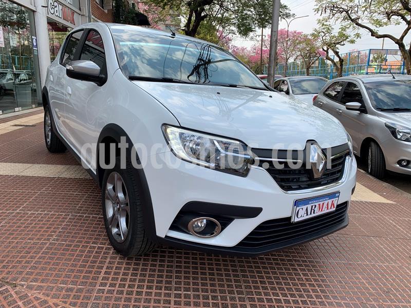 Renault Sandero 1.6 GT Line CVT usado (2020) color Blanco precio $1.235.000