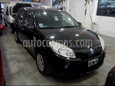Renault Sandero 1.6 Confort usado (2012) color Negro precio $375.000
