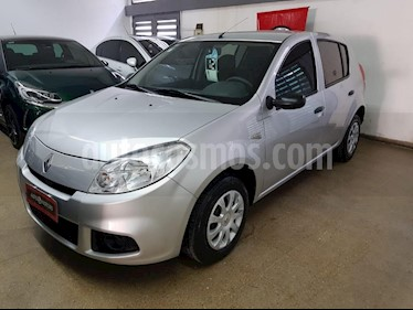 Renault Sandero 1.6L Authentique Pack II usado (2012) color Gris Claro precio $300.000