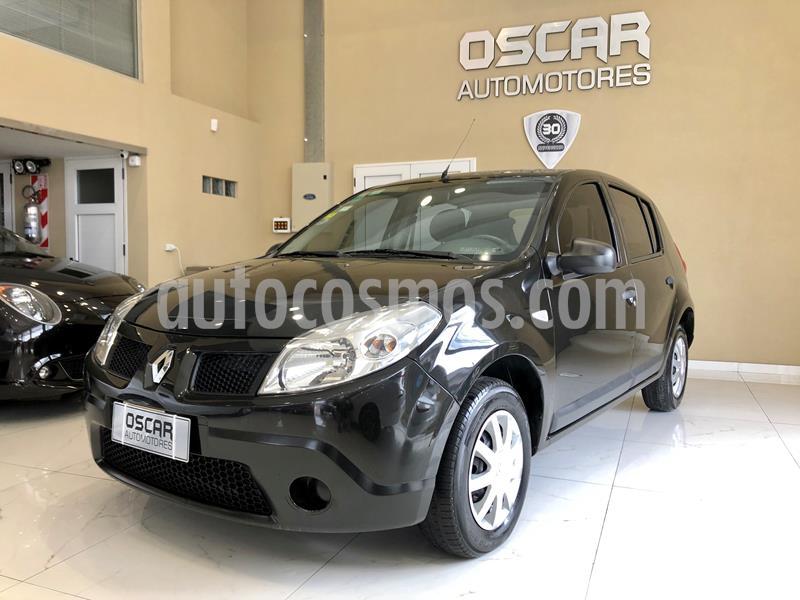 Renault Sandero 1.6 Confort usado (2010) color Negro Nacre precio $509.000