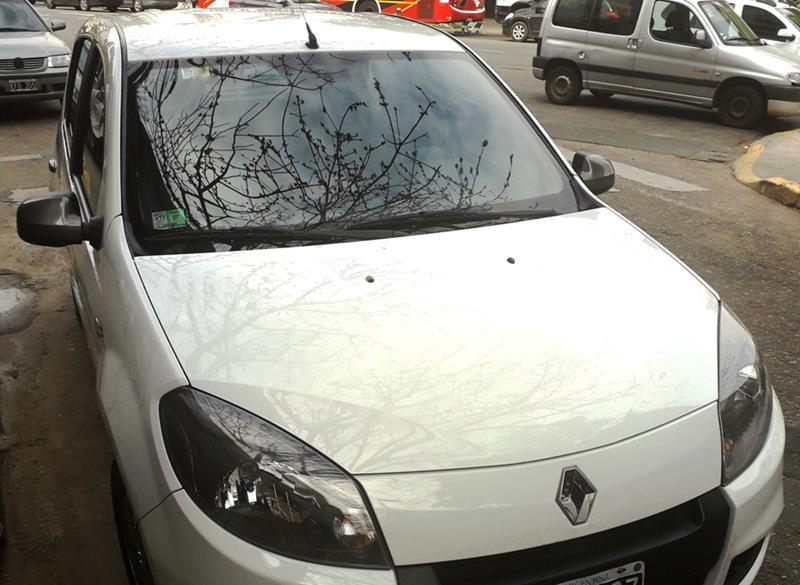 Renault Sandero 1.6 Tech Run usado (2014) color Blanco precio $685.000