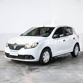 Renault Sandero 1.6 Expression Pack usado (2017) color Blanco precio $610.000