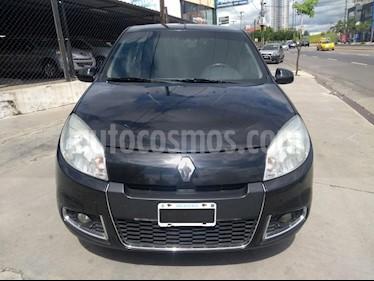 Renault Sandero 1.6 Luxe usado (2012) color Negro precio $325.000