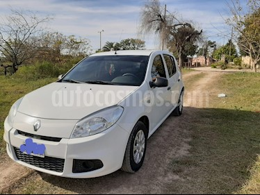 Renault Sandero 1.6 Authentique Pack I usado (2012) color Blanco Glaciar precio $430.000