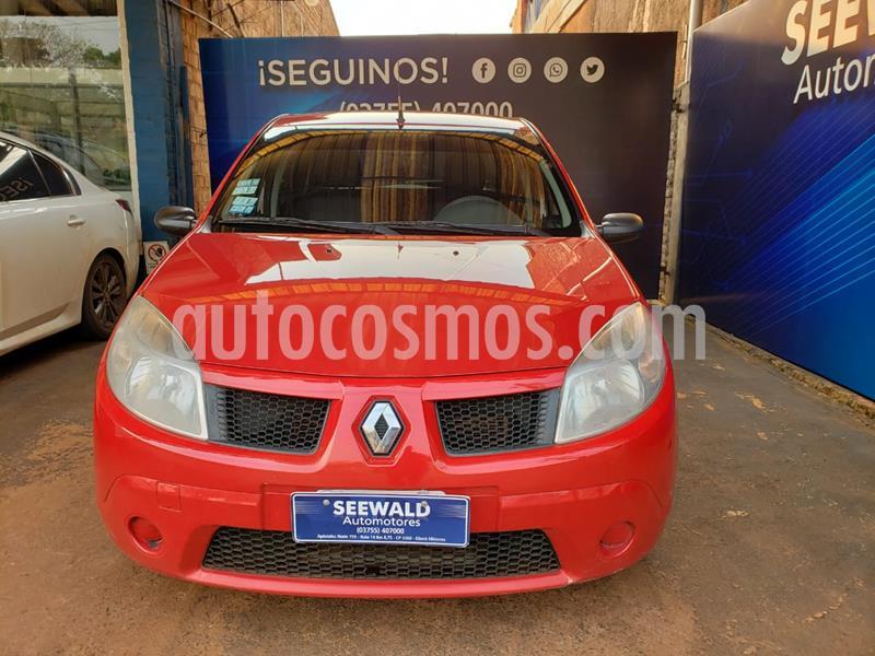Renault Sandero 1.6 N 16v. Confort usado (2008) color Rojo precio $560.000