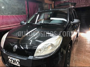Renault Sandero 1.6 Authentique Pack I usado (2013) color Negro precio $370.000