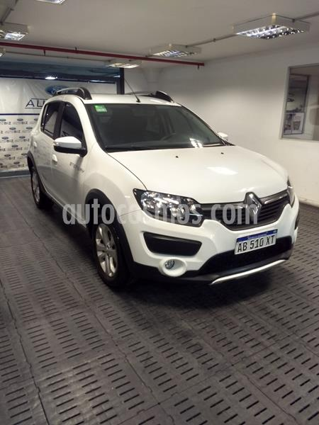 Renault Sandero 1.6 Privilege usado (2017) color Blanco Glaciar precio $1.280.000