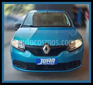 Renault Sandero 1.6 Expression Pack usado (2016) color Azul Celeste precio $485.000