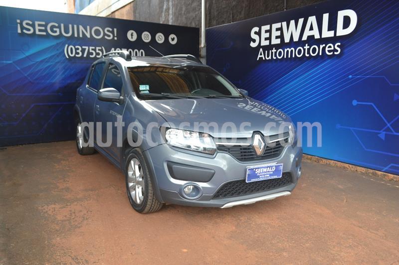 Renault Sandero Stepway Dynamique usado (2015) color Gris Oscuro precio $980.000