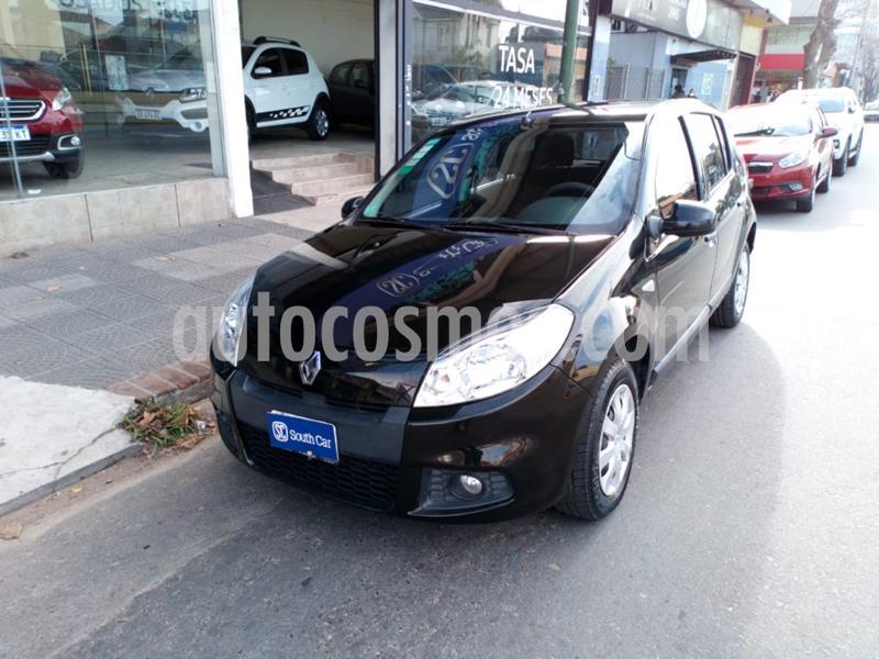 Renault Sandero 1.6 Confort usado (2012) color Negro precio $295.000