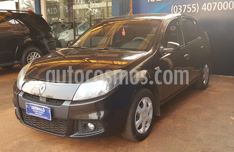 Renault Sandero II - 1.6 8v Expression (85cv) usado (2013) color Negro precio $670.000
