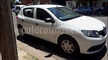 Renault Sandero 1.6 Expression Pack usado (2017) color Blanco Glaciar precio $475.000