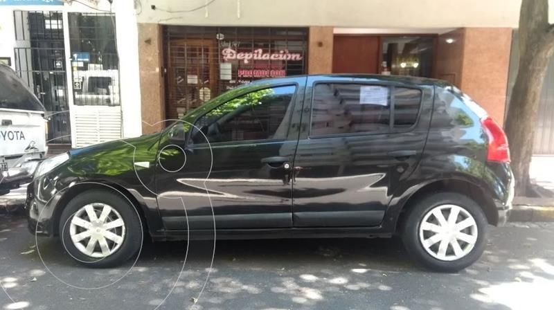 Renault Sandero 1.6 Confort usado (2012) color Negro Nacre precio $550.000