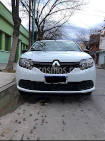 Renault Sandero 1.6 Expression usado (2017) color Blanco Glaciar precio $535.000