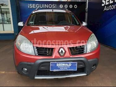 Renault Sandero - usado (2010) color Bordo precio $385.000