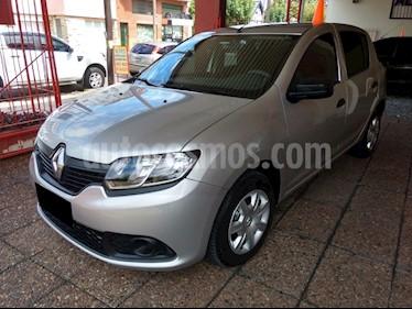 Renault Sandero 1.6 Expression usado (2019) color Gris Acero precio $795.000
