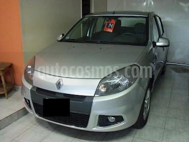 Renault Sandero - usado (2014) color Gris precio $399.900