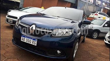 Renault Sandero - usado (2017) color Azul precio $550.000