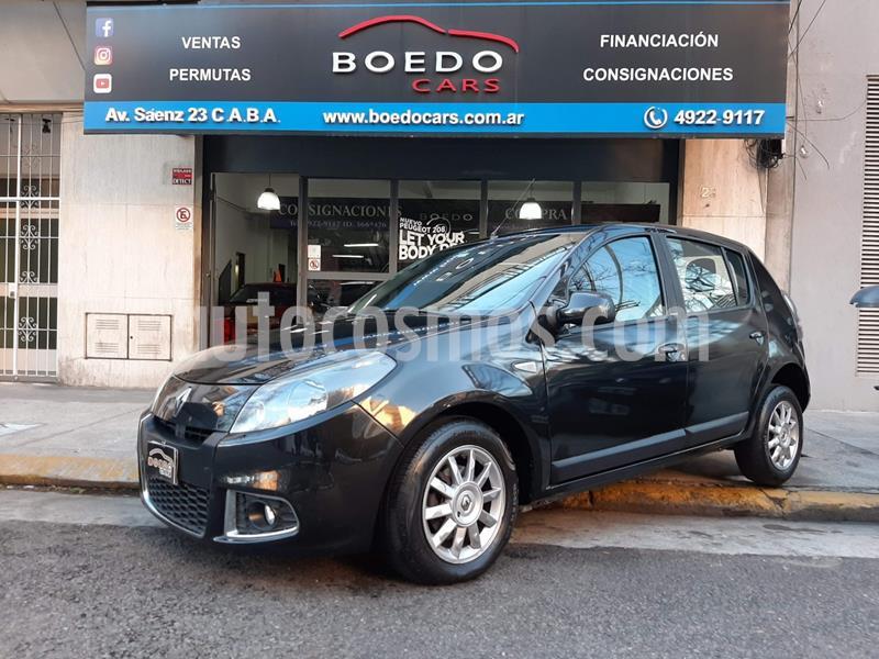 Renault Sandero 1.6 16V Privilege Nav usado (2014) color Negro precio $499.900