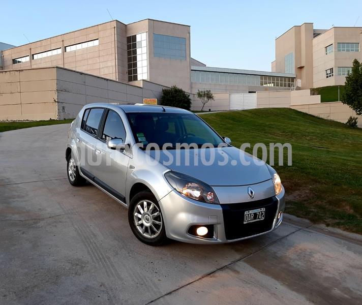 Renault Sandero 1.6 Privilege Nav usado (2014) color Gris Estrella precio $795.000