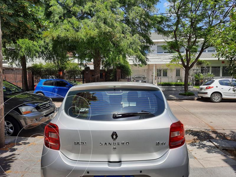 Renault Sandero 1.6 Privilege Pack usado (2019) color Gris Estrella precio $1.065.000