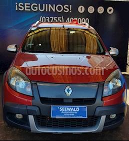 Renault Sandero - usado (2011) color Bordo precio $450.000