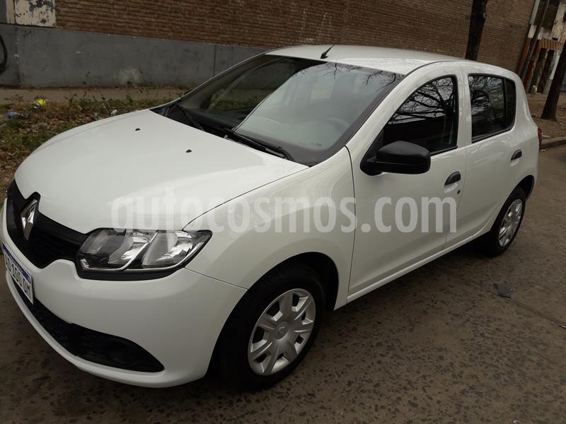 Renault Sandero 1.6 Expression Pack usado (2019) color Blanco precio $850.000