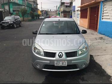 Foto venta Auto usado Renault Sandero Authentique (2010) color Plata precio $65,000