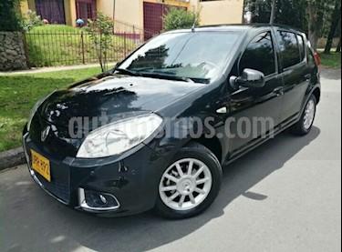 Foto venta Carro usado Renault Sandero Automatico (2015) color Negro Nacarado precio $28.900.000