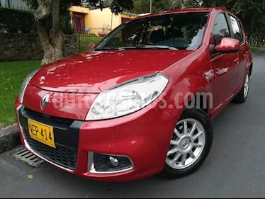 Foto venta Carro Usado Renault Sandero Automatico (2013) color Rojo