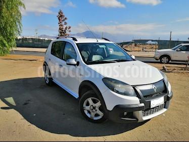 Renault Sandero 1.6 Dynamique AA  usado (2012) color Blanco precio $4.990.000