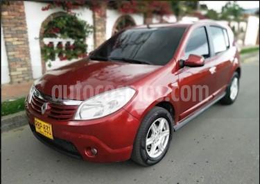 Renault Sandero 1.6 Dynamique Mec 5P usado (2010) color Rojo precio $20.390.000