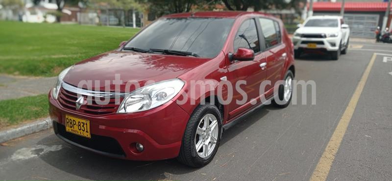 Renault Sandero 1.6 Dynamique Mec 5P usado (2010) color Rojo precio $1.930.000