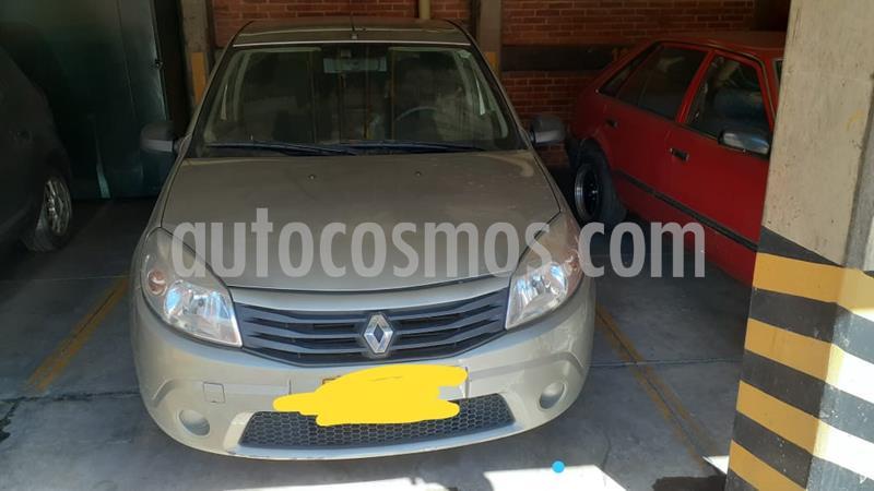 Renault Sandero Authentique Aa usado (2012) color Plata precio $20.000.000