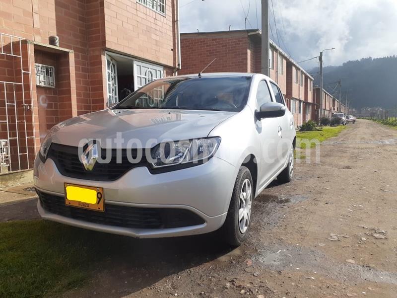 Renault Sandero 1.6 Authentique AA Mec 5P usado (2019) color Plata precio $29.000.000