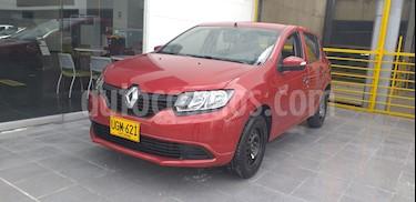 Renault Sandero Life  usado (2019) color Rojo precio $33.300.000