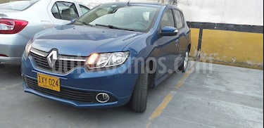 Foto venta Carro usado Renault Sandero Dynamique Aut (2017) color Azul precio $33.500.000