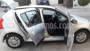 Foto venta Auto usado Renault Sandero Dynamique Aut (2012) color Plata precio $97,500