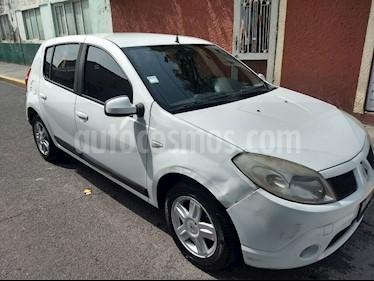 Foto venta Auto usado Renault Sandero Dynamique (2011) color Blanco precio $70,000