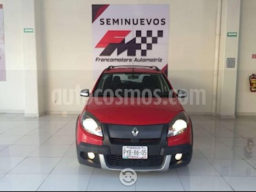 Foto venta Auto usado Renault Sandero Dynamique (2013) color Rojo Garance precio $118,000