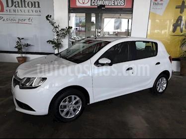 Foto venta Auto usado Renault Sandero Expression Aut (2017) color Blanco precio $165,000