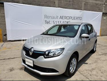 Foto venta Auto usado Renault Sandero Expression Aut (2017) color Plata precio $164,000