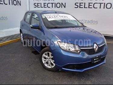 Foto venta Auto usado Renault Sandero Expression Aut (2017) color Azul precio $158,000
