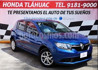 Foto Renault Sandero Expression Aut usado (2017) color Azul precio $140,000