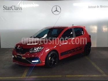 Foto venta Auto Seminuevo Renault Sandero Expression Aut (2017) color Rojo precio $199,000